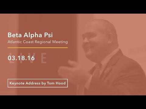 MACPA Live | Tom Hood Keynote Address at the Beta Alpha Psi Atlantic Coast Regional Meeting