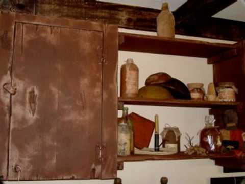 Americana Primitive Crafts Country Crafts Home Decor YouTube