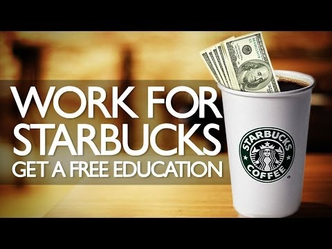 Starbucks Will Pay for You To Go To College