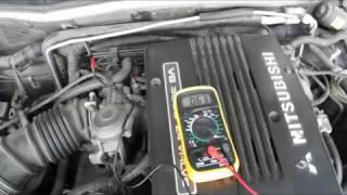 Регулировка ДПДЗ Mitsubishi Montero Sport 3.0