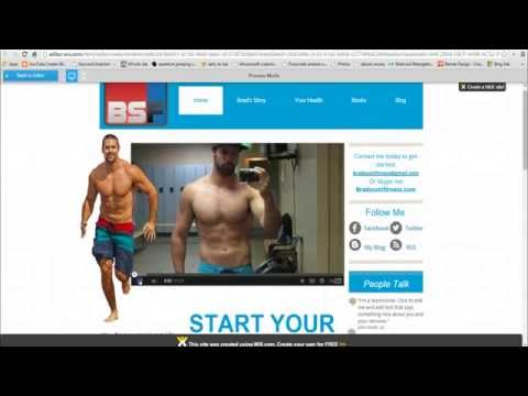 Wix Review   Building my new Fitness site with Free Drag and Drop Website Builder NO CODING NEEDED!