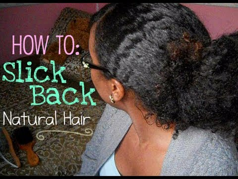 styling products for natural hair how to slick back hair without gel 1140 | hqdefault