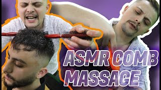 ASMR SLEEP | ASMR HEAD MASSAGE, ASMR EAR MASSAGE, ASMR NO TALKING | ASMR MASSAGE BARBER * TOOLS