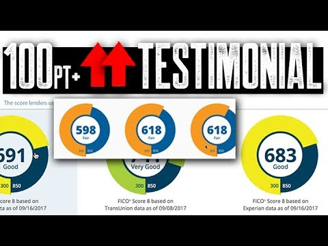 120 points fico score increase fast easy 609 credit repair testimonial