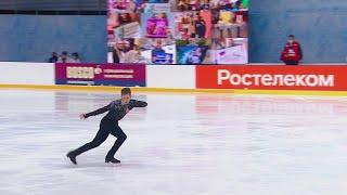Андрей Мозалев Произвольная программа Мужчины Сочи Кубок России по фигурному катанию 2020 21