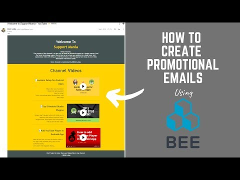 How To Create Promotional Emails Using BeeFree.io Email Templates - Absolutely Free