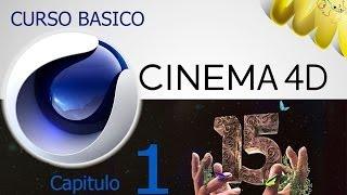 Cinema 4D R15, Tutorial descarga e inicio, Curso basico en español, cap 1