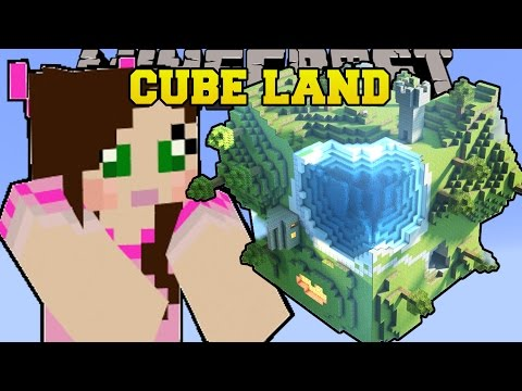 Minecraft: CUBE LAND (BIOMES IN CUBES!)...