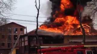 Пожежа в центрі Хмельницького, Цукерня(, 2015-04-17T11:51:39.000Z)