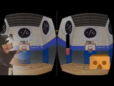 VR BasketBall Game   Virtual Reality 360 BasketBall Game   Google Cardboard Game