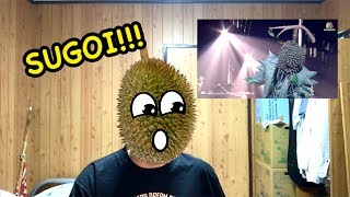 JAPANESE REACTION -  Set Fire To The Rain   Durian Masked  The Mask Singer Thailand