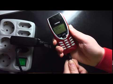 Nokia 8210 not charging