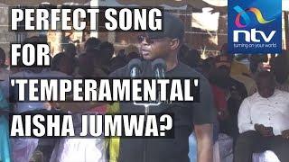 Governor Kingi dedicates reggae song to Aisha Jumwa, blasts Tangatanga and Kieleweke