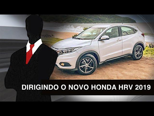 Dirigindo o Novo Honda HR-V 2019