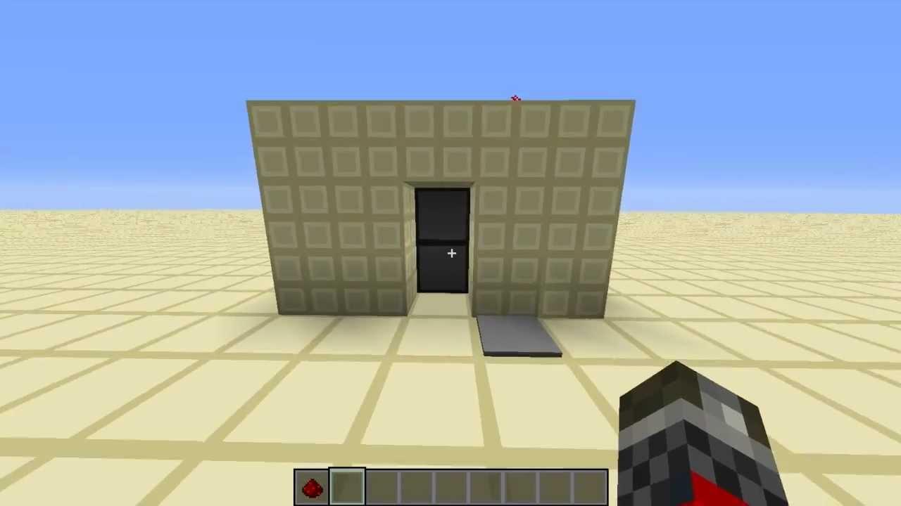 & 2x1 Hidden piston door (Super simple!) | Minecraft - YouTube Pezcame.Com