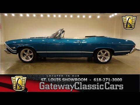 1968 Chevrolet Chevelle - Gateway Classic Cars St. Louis - #6613