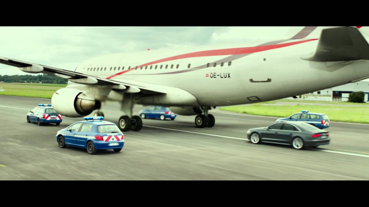 Transporter: Refueled Airplane Clip - YouTube