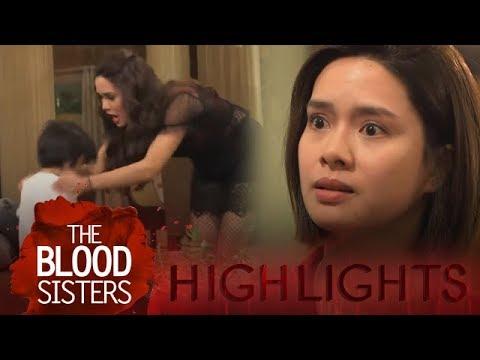 The Blood Sisters: Erika gets mad at Agatha   EP 34
