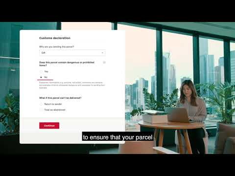 How-to Video: Australia Post Customs Form—parcels, Letters