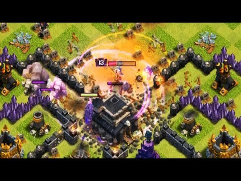 Erdbeben, Golem, Pekka Strategie?! - Let's Play Clash of Clans #46