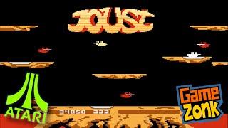 Joust - Atari Comparison - 2600 / 5200 / 7800