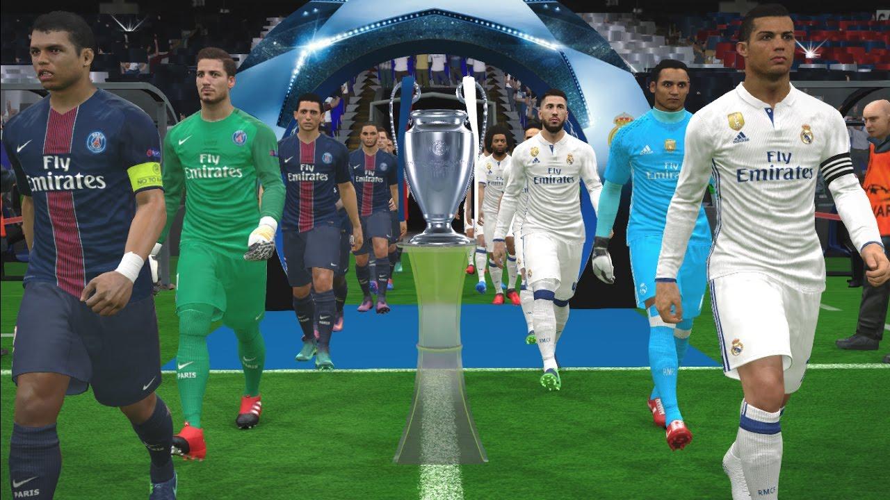 Uefa Champions League Final Real Madrid Vs Paris Saint Germain