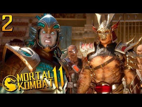 ПРОХОЖДЕНИЕ Mortal Kombat 11 НА РУССКОМ ЯЗЫКЕ -ГЛАВА 2- КОТАЛЬ КАН