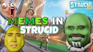 MEMES IN STRUCID (Roblox) #memes #pewdiepie