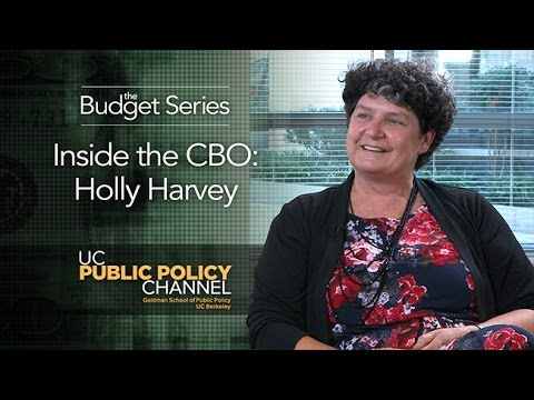 Inside the CBO: Holly Harvey -- The Budget Series