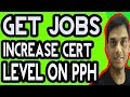 Get more jobs by increasing CERT level on peopleperhour | Endorse and increase level | Hindi