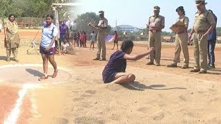 Girl Police Physical Selection Process Video - Distodaynews