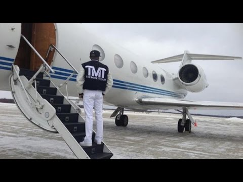 Floyd Mayweather & His $30 MILLION Private Jet