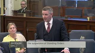Senator Ian Marshall | Seanad Dissolution Sitting 21 Jan 2020