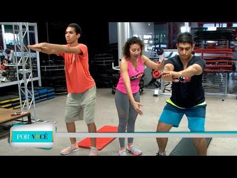 Por Você - Atividade Física: Exercícios para se fazer em casa 05/05/18