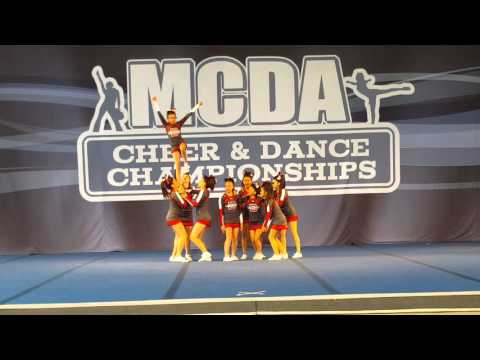 MCDA cheer and dance competition