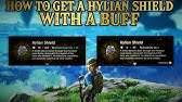 The Ultimate Hylian Shield Zelda Botw Youtube