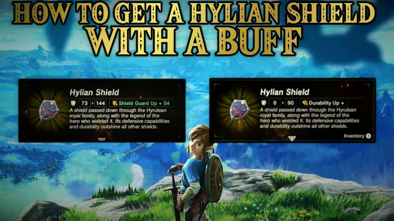 The Durability Hylian Shield Breath Of The Wild Glitched 100 Part 63 5 Youtube