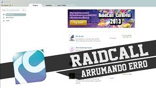 Raidcall - Como arrumar o erro FlashCtrl error[ eNotInstallFlash ]!