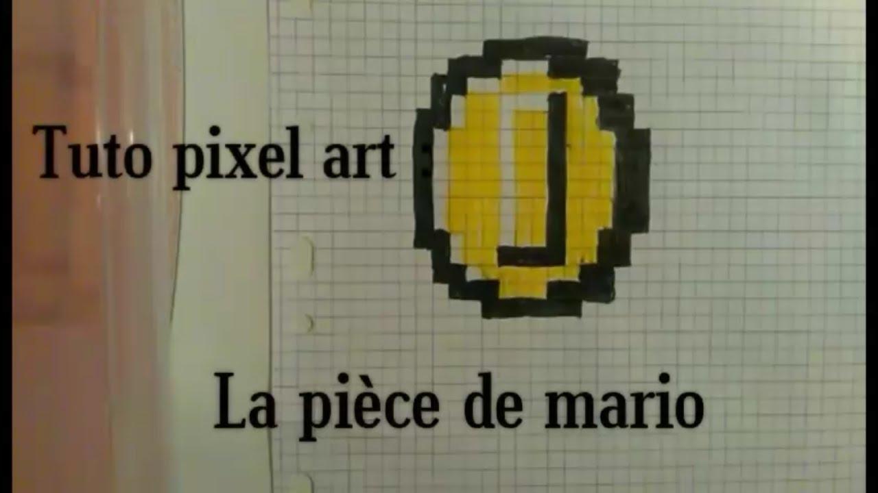 Tuto Pixel Art N4 La Pièce De Mario