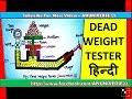 [हिन्दी] DEAD WEIGHT TESTER - ANUNIVERSE 22