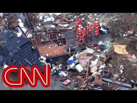 Catastrophic rainfall kills dozens in Japan