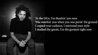 J. Cole - Middle Child Official Lyrics