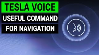 Tesla Tips: How to find places near you with a voice command | Tesla Hidden Features