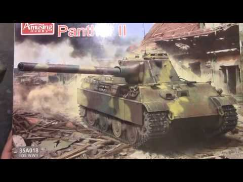 Amusing hobby 1:35 panther 2 kit review