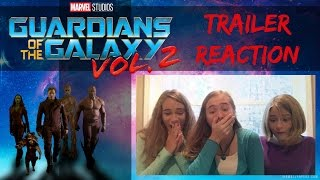 Guardians of the Galaxy Volume 2 Trailer Reaction