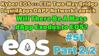 Kyber EOS-Ethereum Bridge and DAPP Network Will Bring More Projects to Mainnet
