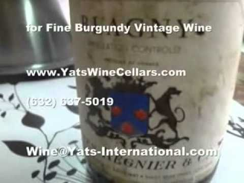 Manila wine shop Yats Wine Cellars offers vintage Burgundy in Philippines