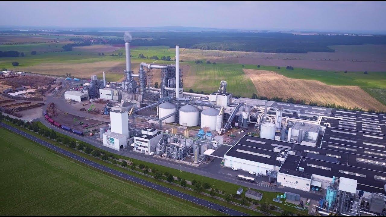 Kronospan Lampertswalde - factory tour - YouTube