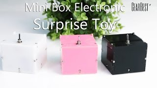 Mini ABS Box Electronic Machine Surprise Toy - Gearbest.com