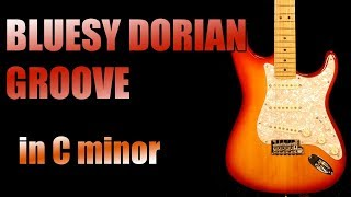 Cm Bluesy Dorian Groove Backing Track Jam